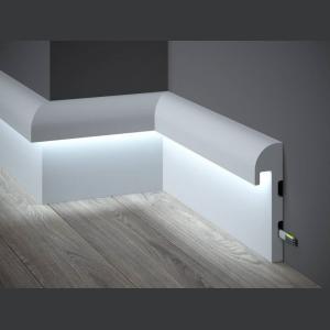 LED Sockelleiste aus Duropolymer QL015 Paper