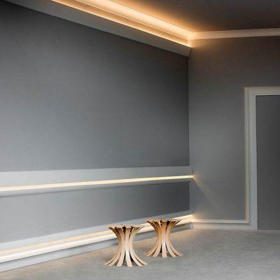 ideen indirekte beleuchtung wohnzimmer