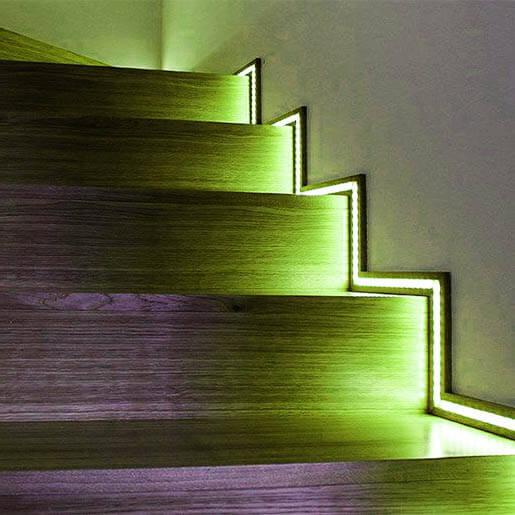 Indirekte Treppenbeleuchtung Led Innen