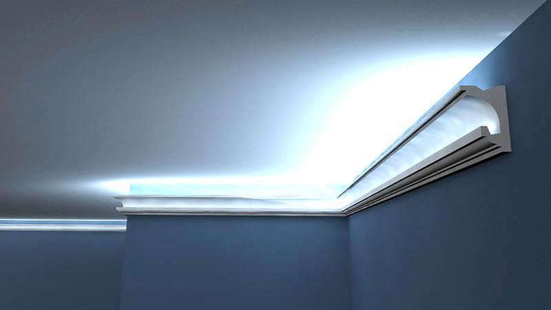 Indirekte Beleuchtung Decke Selber Bauen Trockenbau Decormarket