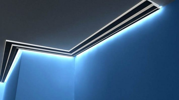 indirekte beleuchtung decke schlafzimmer