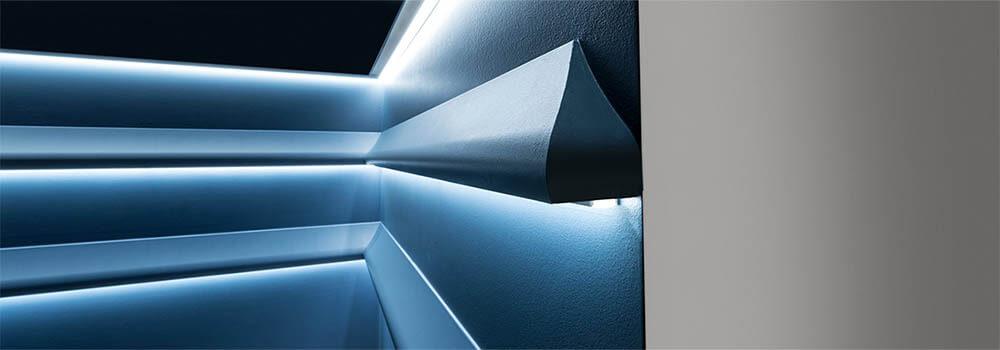 Indirekte Beleuchtung Wand Selber Bauen Led Von Decormarket
