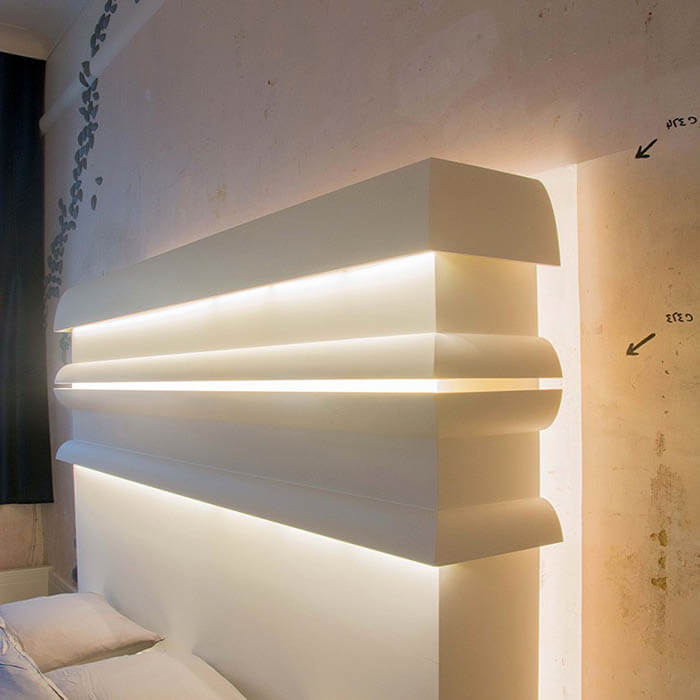 Indirekte Beleuchtung Wohnzimmer Selber Bauen Furs Led