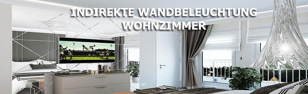 Wandbeleuchtung wohnzimmer